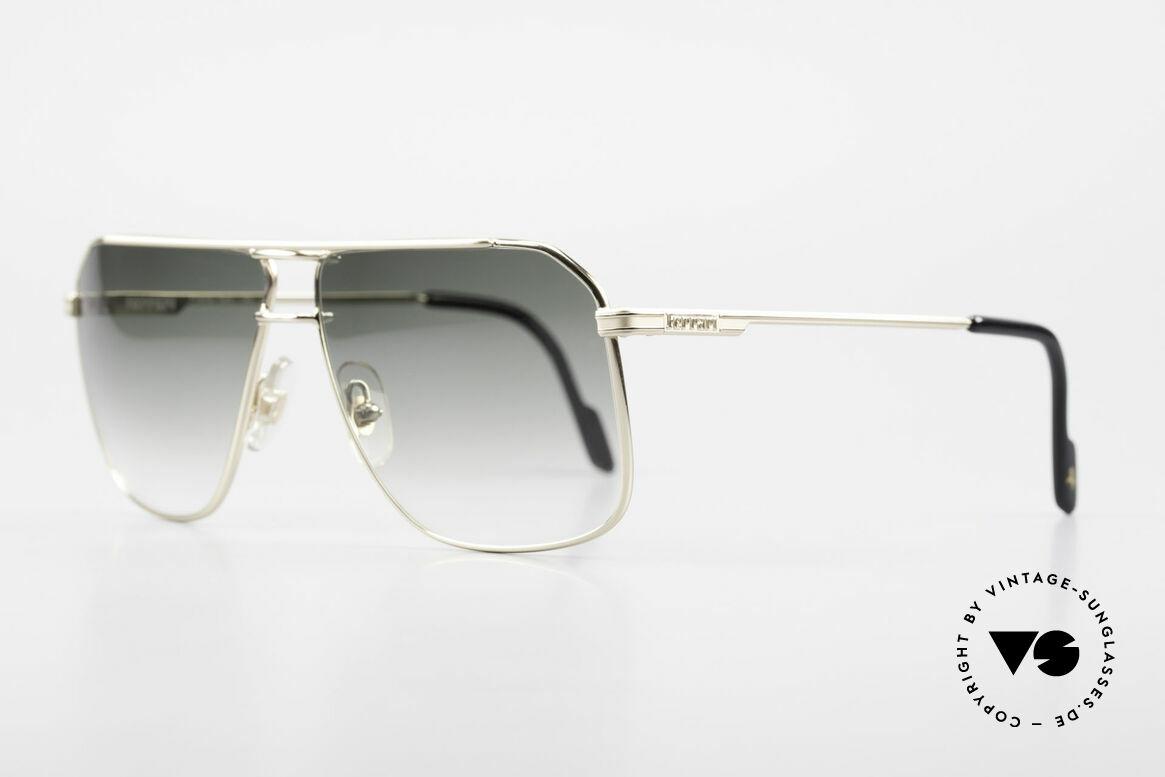 Ferrari F24 Men's Vintage Sunglasses 90's, orig. name: F4, Ferrari Formula, col. 345, size 60/13, Made for Men