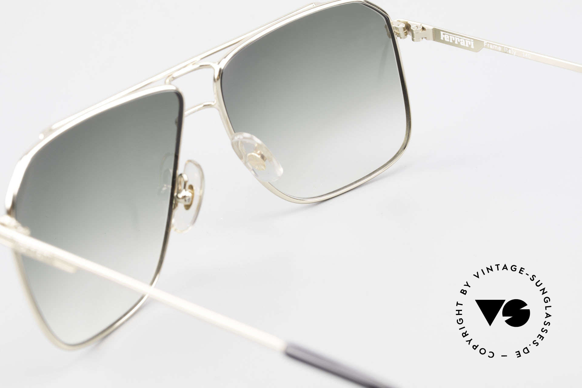 Ferrari F24 Men's Vintage Sunglasses 90's, NO RETRO sunglasses, but a 30 years old ORIGINAL, Made for Men
