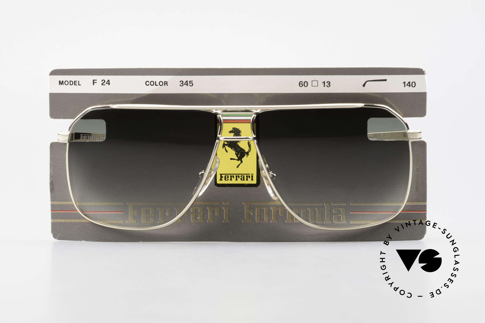Ferrari F24 Men's Vintage Sunglasses 90's, Size: medium, Made for Men