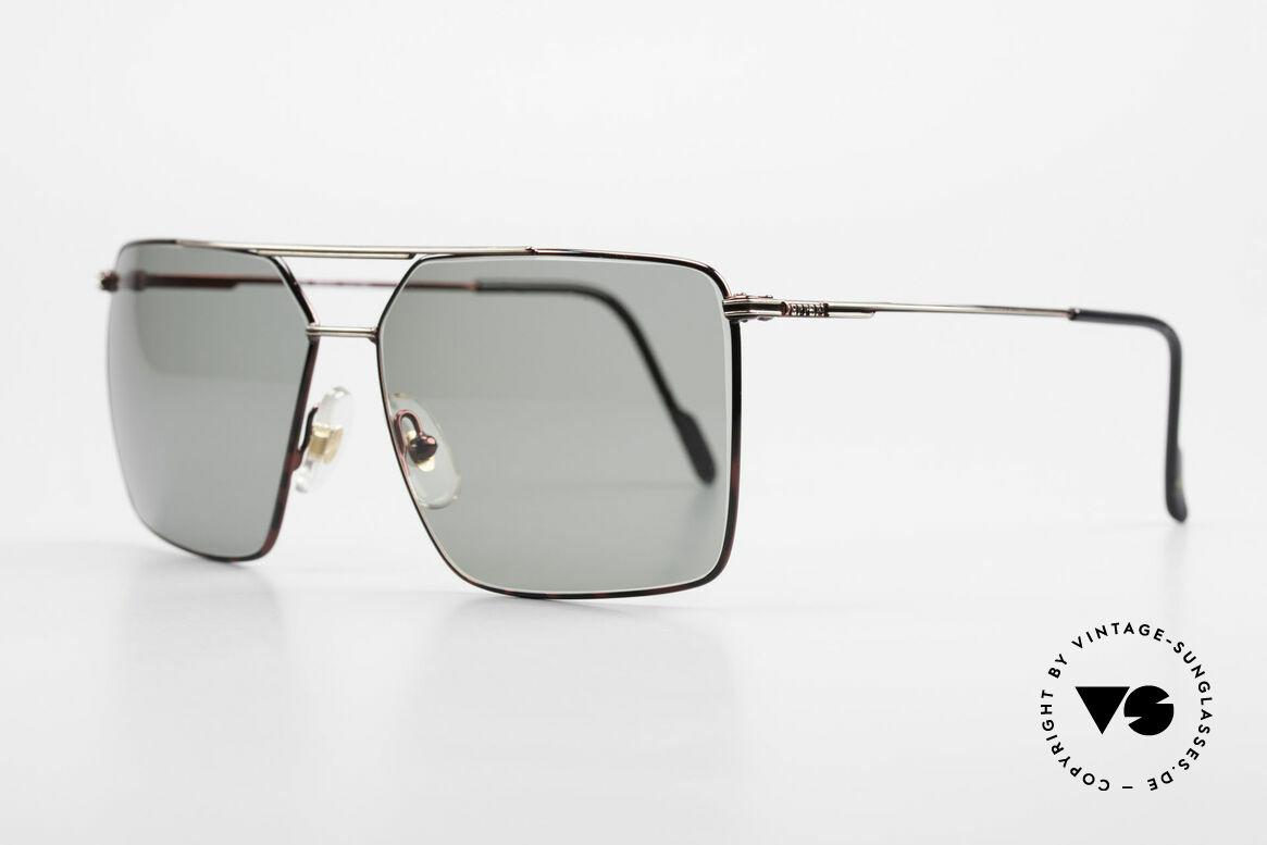 Ferrari F46 Ferrari Formula 1 Sunglasses, high-class finish in a kind of ruby colored metallic, Made for Men