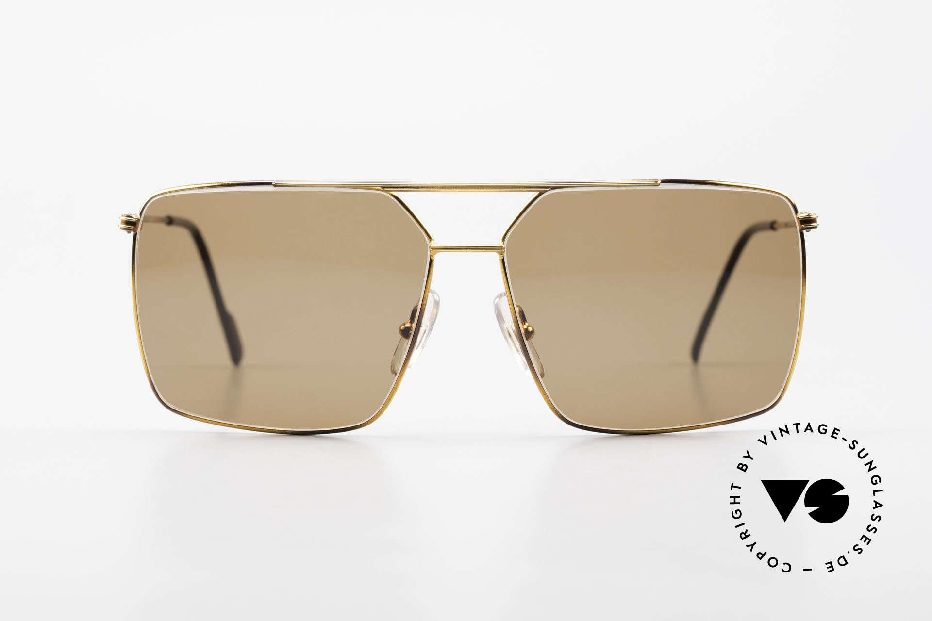 Ferrari F46 Retro Sunglasses True Vintage, lightweight frame; F46, col. 65G, size 59-13, 140, Made for Men