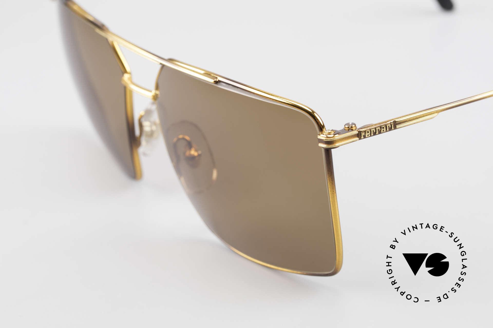Ferrari F46 Retro Sunglasses True Vintage, never worn (like all our vintage 90's Ferrari specs), Made for Men