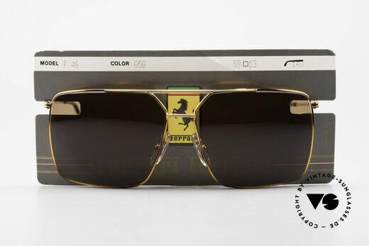Ferrari F46 Retro Sunglasses True Vintage, Size: medium, Made for Men