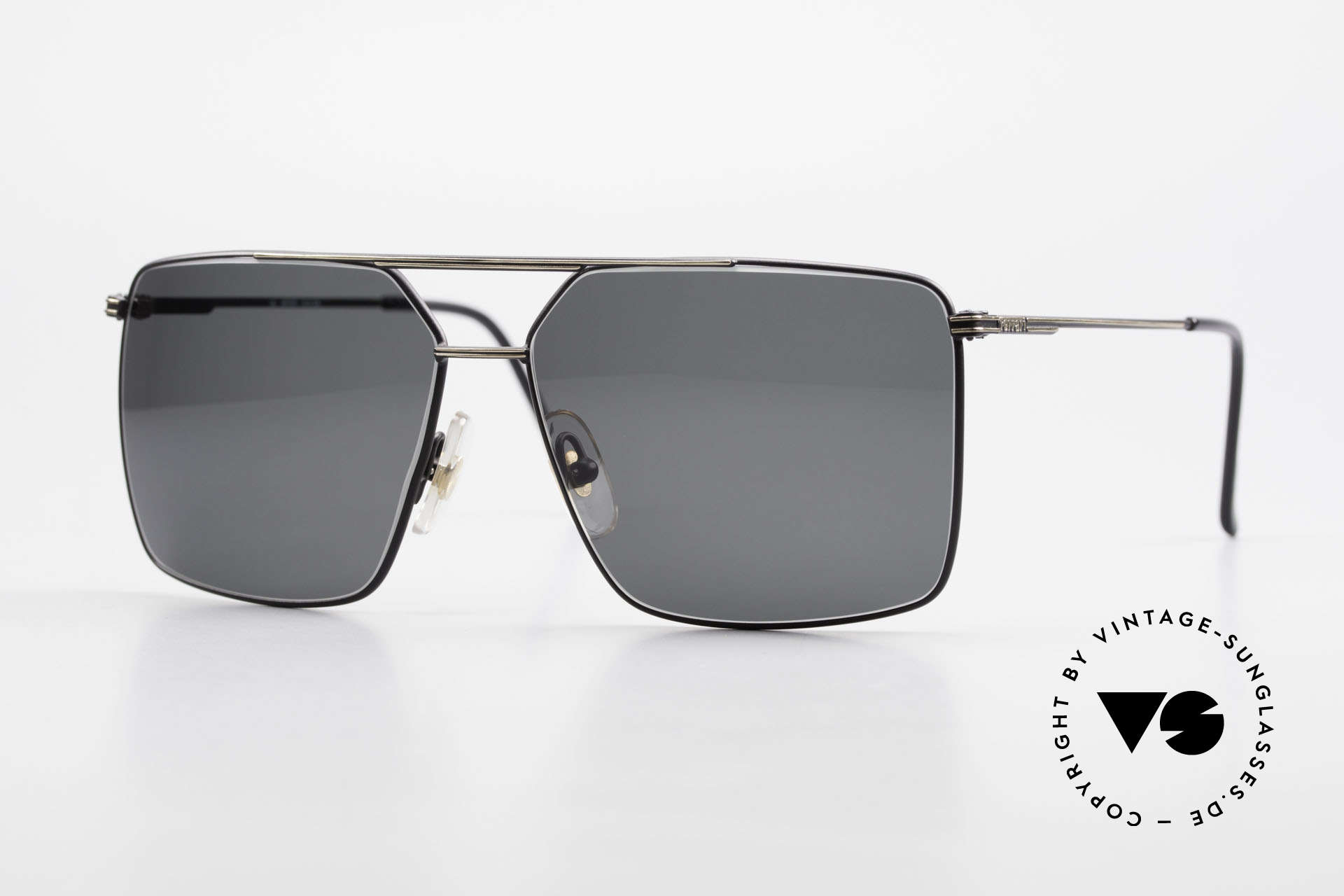 Ferrari F46 Retro Sunglasses Old Vintage, striking model of the FERRARI 'Formula 1' series, Made for Men