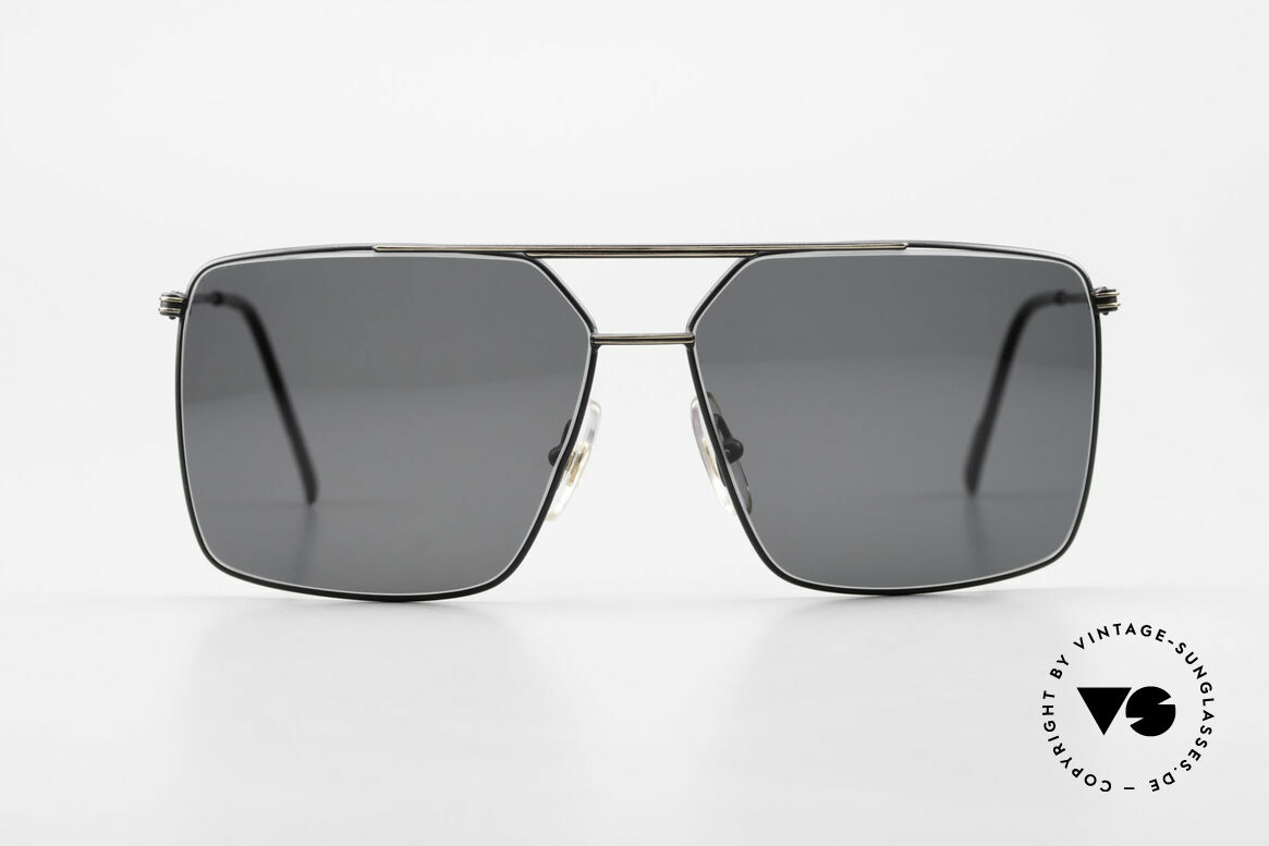 Ferrari F46 Retro Sunglasses Old Vintage, lightweight frame; F46, col. 63G, size 59-13, 140, Made for Men