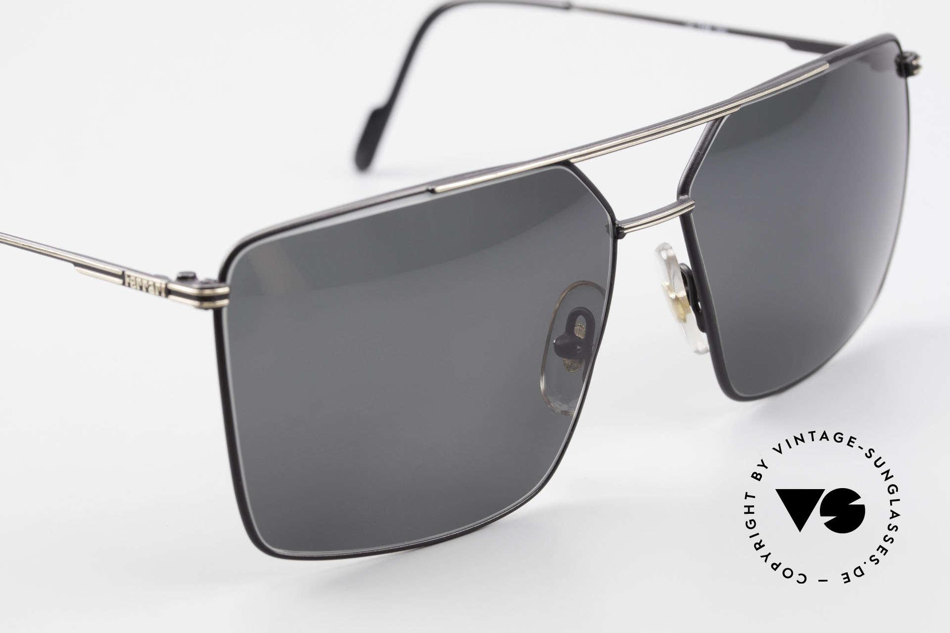 Ferrari F46 Retro Sunglasses Old Vintage, NO RETRO sunglasses; an old VINTAGE ORIGINAL, Made for Men