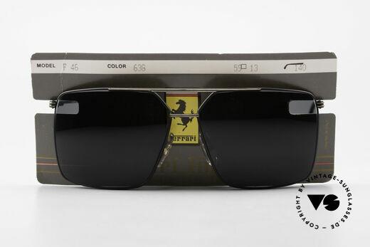 Ferrari F46 Retro Sunglasses Old Vintage, Size: medium, Made for Men
