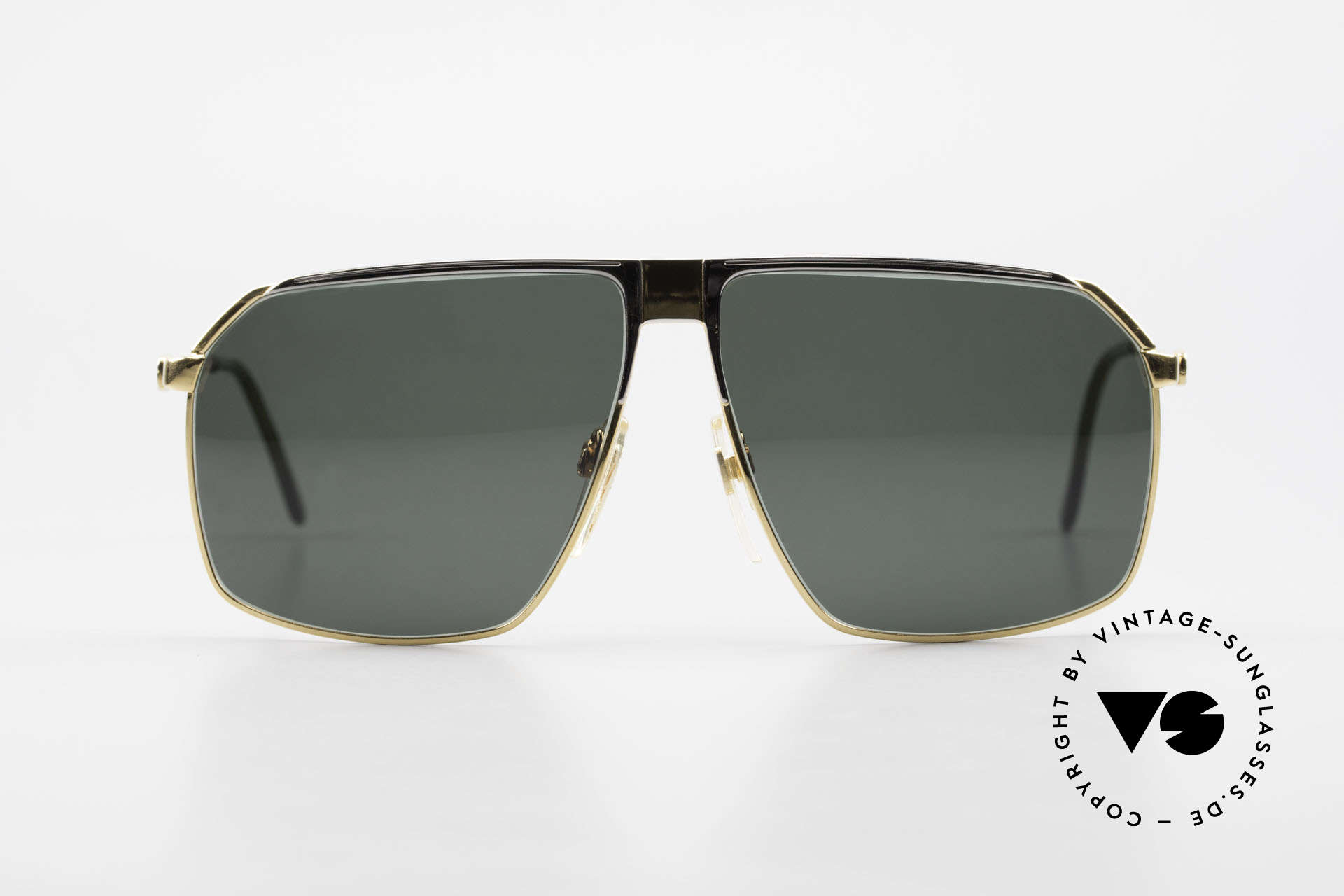 Gucci GG41 22kt Gold-Plated Sunglasses, the most wanted vintage 80's sunglasses by GUCCI, Made for Men