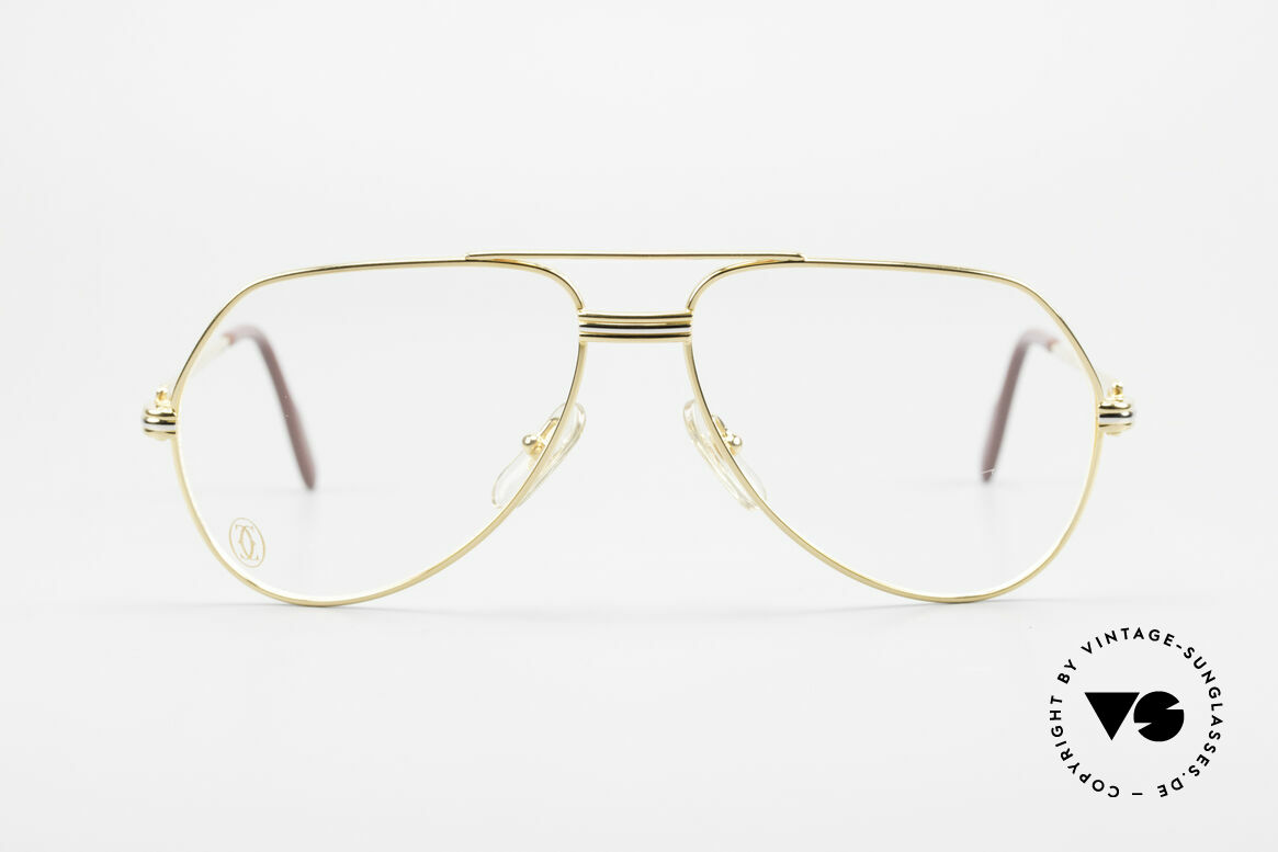 "Cartier Vendome LC - S David Bowie 80's Vintage Frame, mod. ""Vendome"" was launched in 1983 & made till 1997, Made for Men and Women"