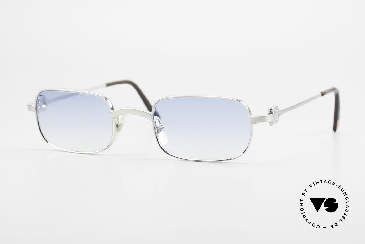 Cartier Dreamer Luxury Frame With Chanel Case, rare CARTIER vintage luxury sunglasses from 1999, Made for Men
