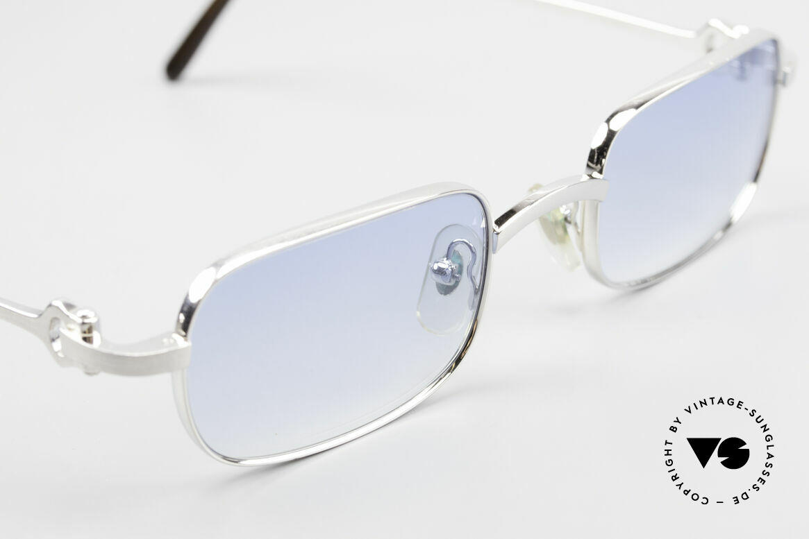 Cartier Dreamer Luxury Frame With Chanel Case, 2nd hand model in a great vintage condition; rarity, Made for Men