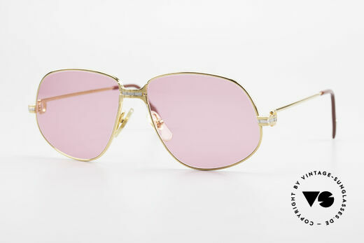 Cartier Panthere G.M. - M Pink Glasses With Chanel Case Details