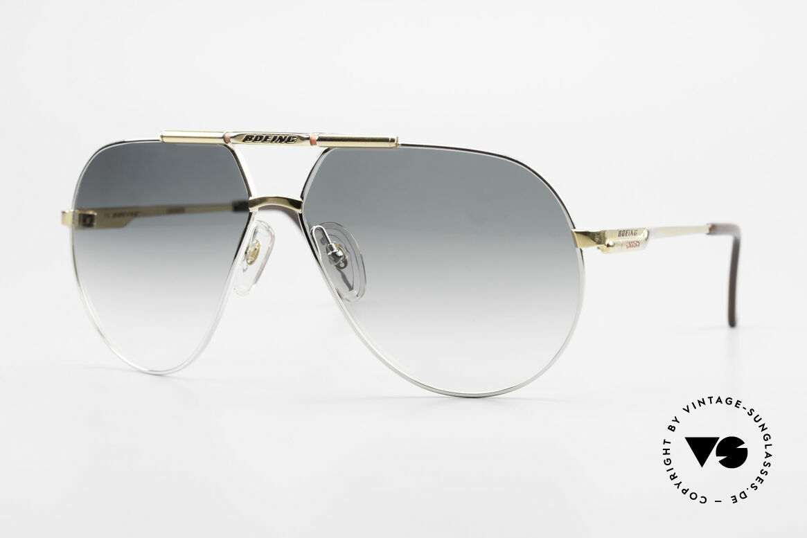 Boeing 5705 Original 80's Pilots Shades, The BOEING Collection by Carrera from 1988/1989, Made for Men