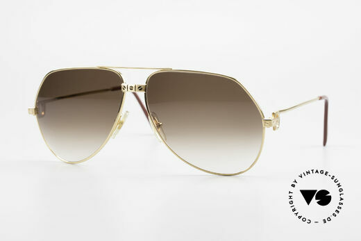 Cartier Vendome Santos - L Special Edition Fully Gold Details