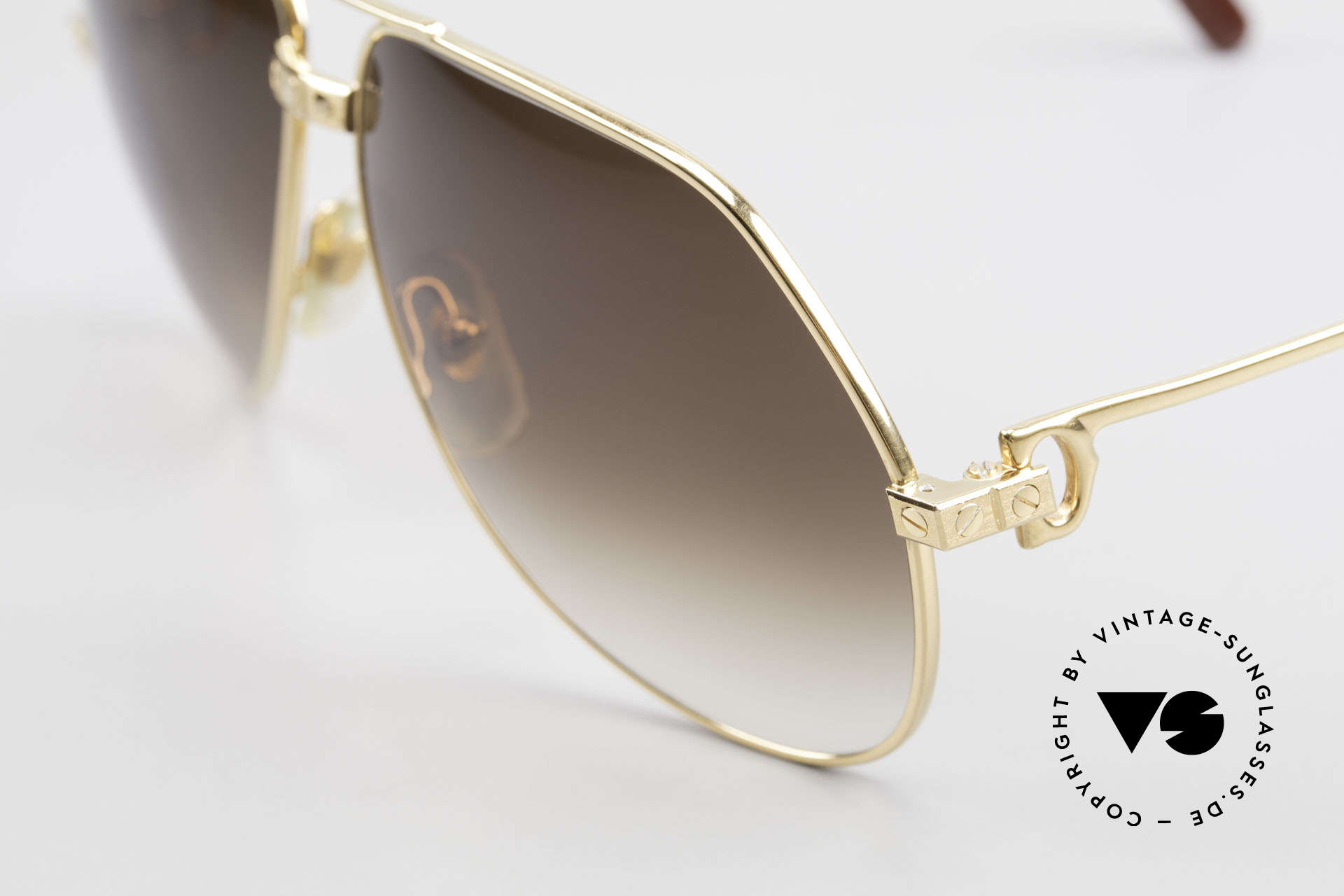 Cartier Vendome Santos - L Special Edition Fully Gold, you won't find this completely gold version, elsewhere!, Made for Men