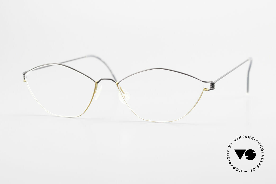 Lindberg Hydra Air Titan Rim Titanium Glasses For Ladies, LINDBERG Air Titanium Rim eyeglasses in size 52-14, Made for Women