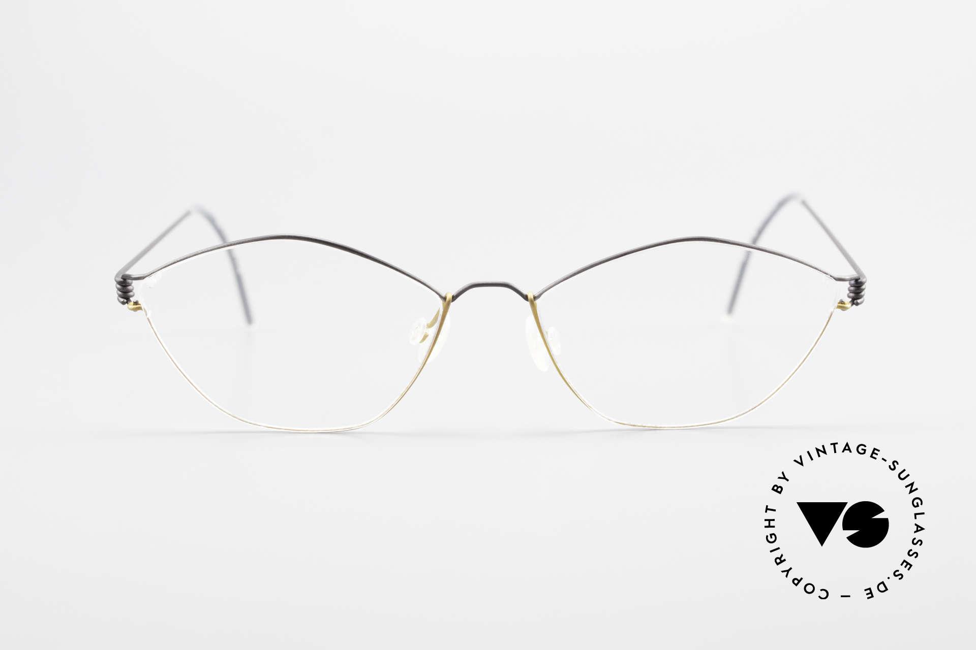 Lindberg Hydra Air Titan Rim Titanium Glasses For Ladies, distinctive quality and design (award-winning frame), Made for Women