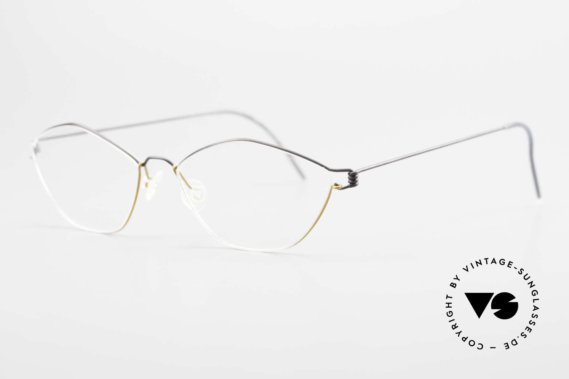 Lindberg Hydra Air Titan Rim Titanium Glasses For Ladies, simply timeless, stylish & innovative: grade 'vintage', Made for Women