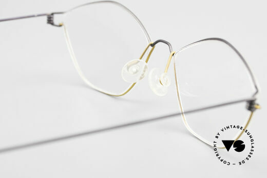 Lindberg Hydra Air Titan Rim Titanium Glasses For Ladies, simple & strong frame: free from screws, rivets & welds, Made for Women