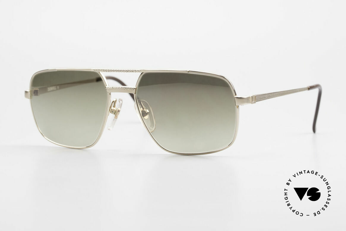 Dunhill 6068 Gold Doublé 14ct Gold Filled, Gold Doublé 1/20 14kt sunglasses by Alfred DUNHILL, Made for Men