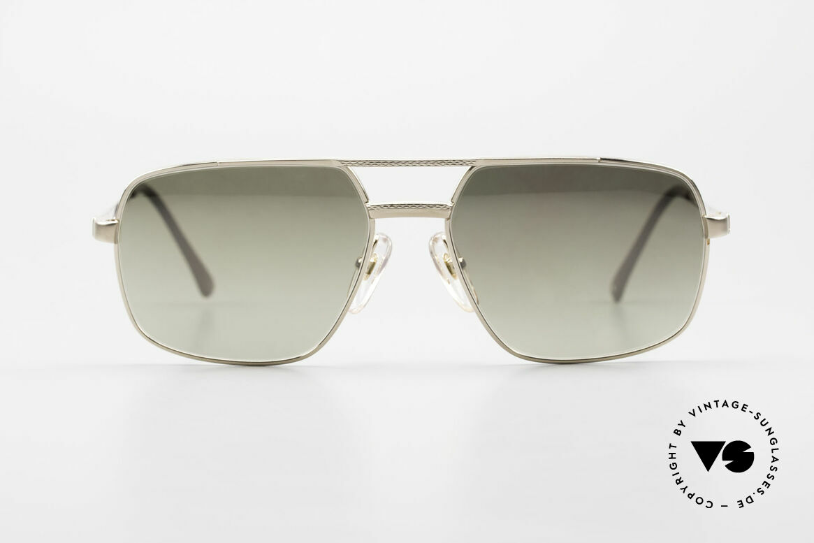 Dunhill 6068 Gold Doublé 14ct Gold Filled, frame is made of 14kt Gold-Doublé! + mirrored lenses, Made for Men