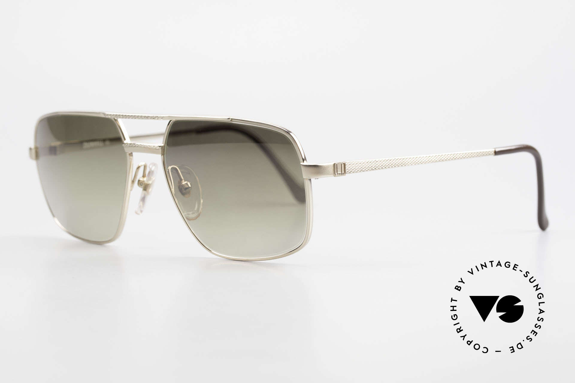 Dunhill 6068 Gold Doublé 14ct Gold Filled, this Dunhill model is at the top of the eyewear sector, Made for Men