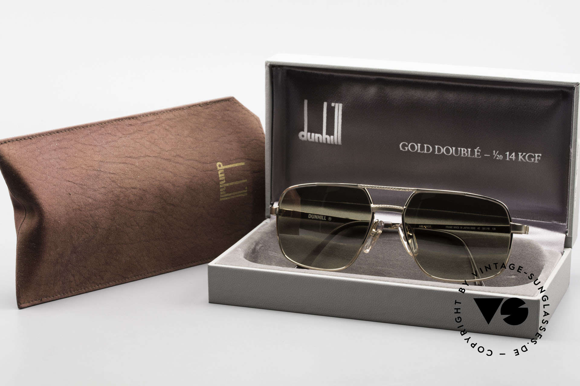 Dunhill 6068 Gold Doublé 14ct Gold Filled, Size: medium, Made for Men