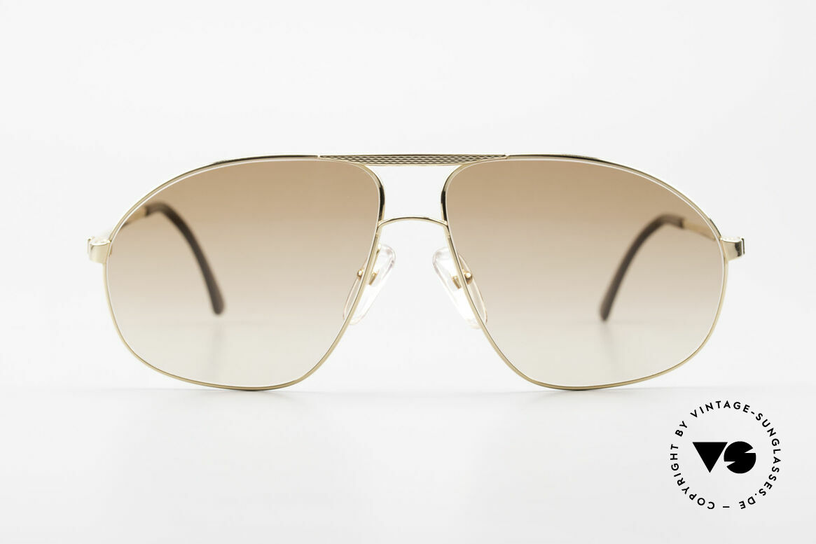 Dunhill 6125 Gold Plated Aviator Frame 90's, this is the indisputable spearhead of sunglasses' quality, Made for Men