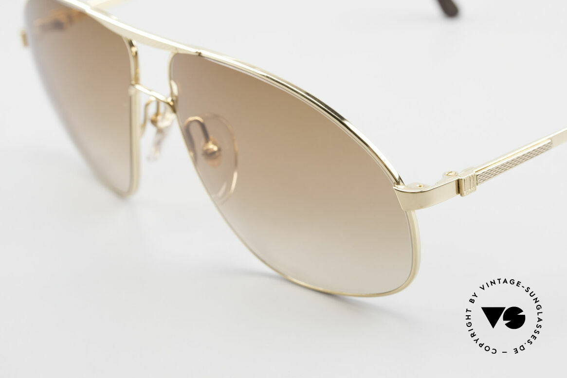 Dunhill 6125 Gold Plated Aviator Frame 90's, sophisticated & distinguished = true gentleman shades, Made for Men