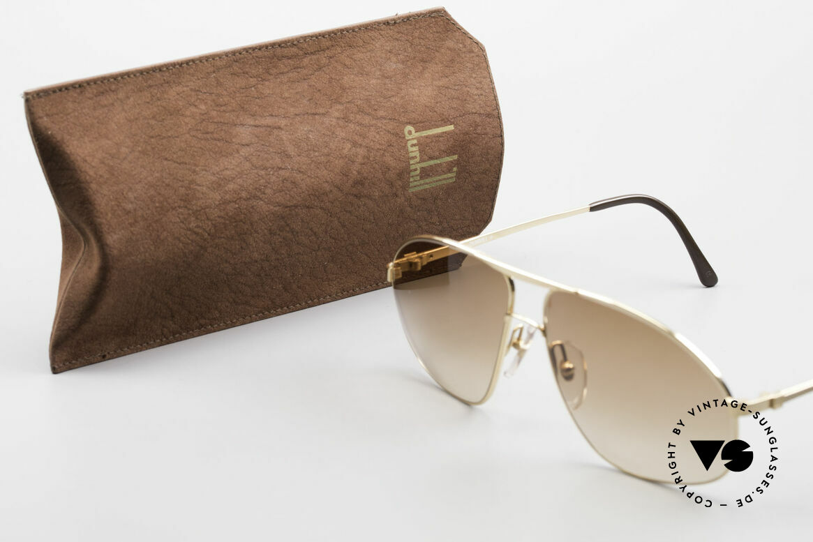 Dunhill 6125 Gold Plated Aviator Frame 90's, Size: medium, Made for Men