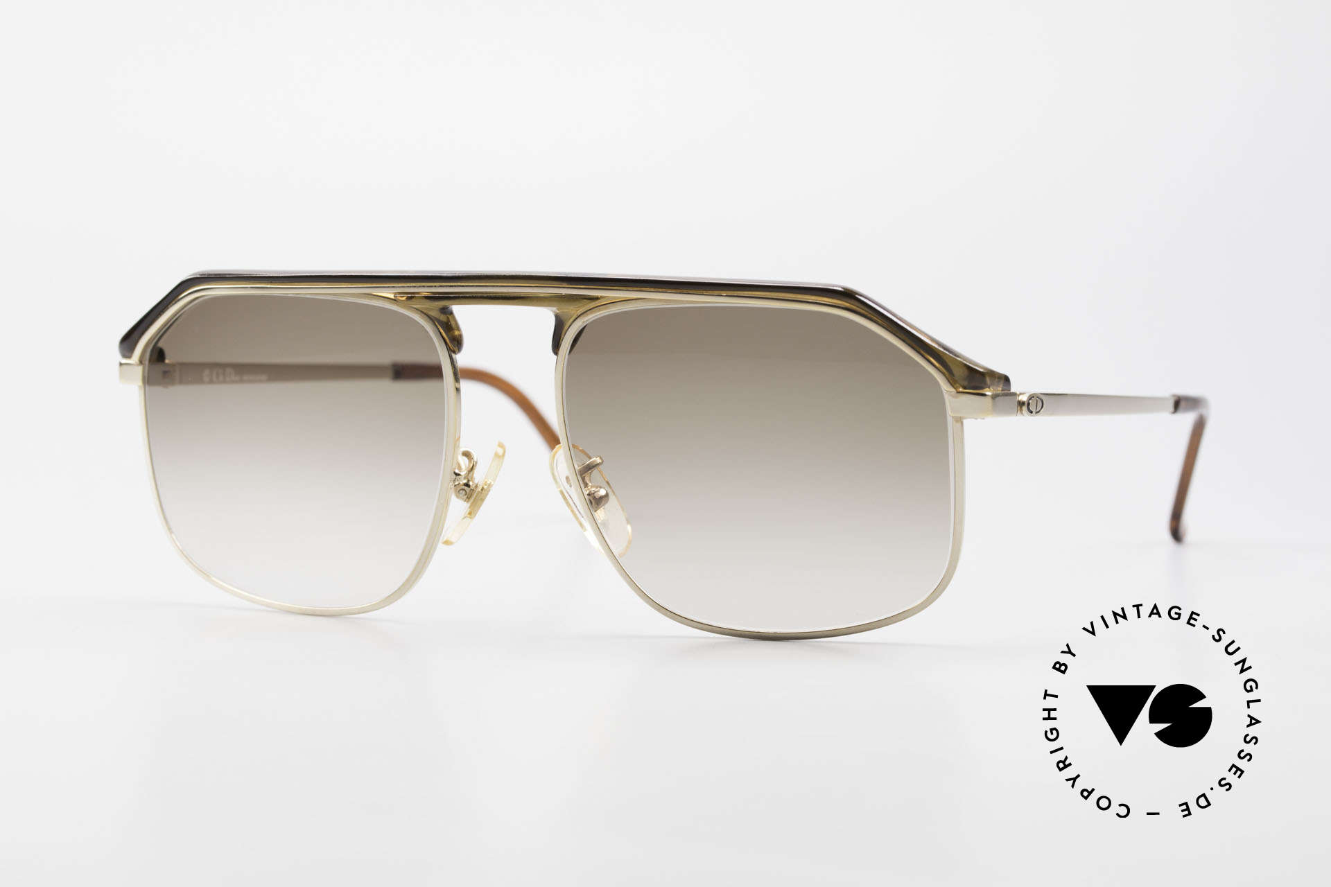 Christian Dior 2135A 1980's Dior Monsieur Series, classic C. Dior gentlemen´s sunglasses from the 80's, Made for Men