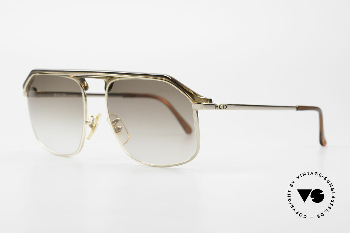 "Christian Dior 2135A 1980's Dior Monsieur Series, ""A"" = ""2135"" model version with additional nose pads, Made for Men"