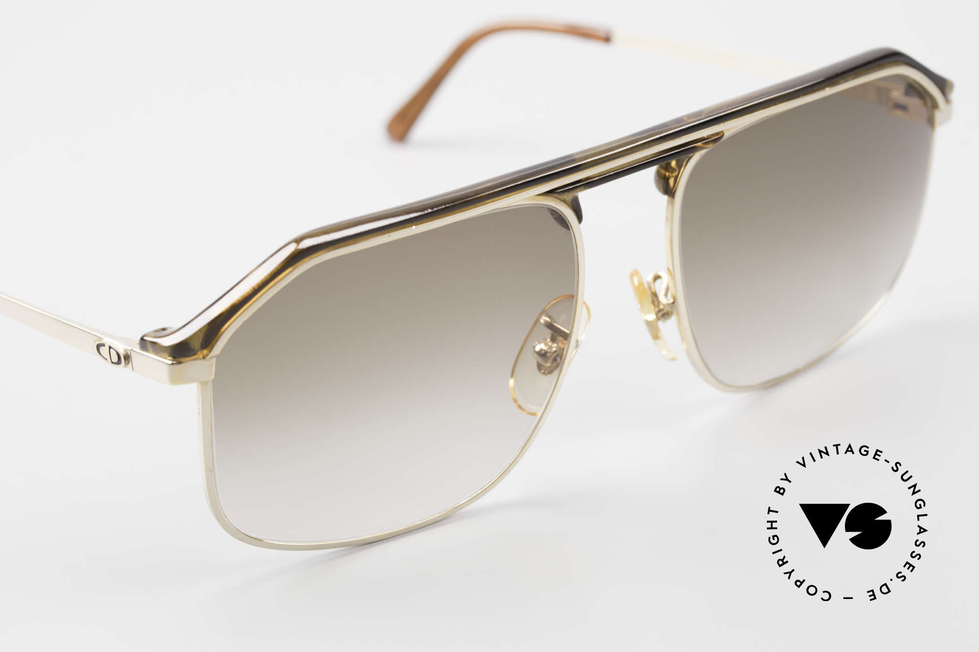 Christian Dior 2135A 1980's Dior Monsieur Series, never worn (like all our vintage sunglasses by Dior), Made for Men