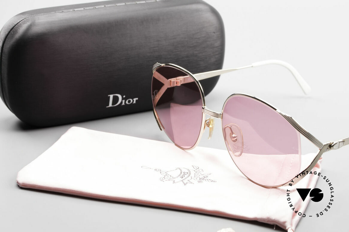 Christian Dior 2387 Ladies Pink 80's Sunglasses, Size: medium, Made for Women