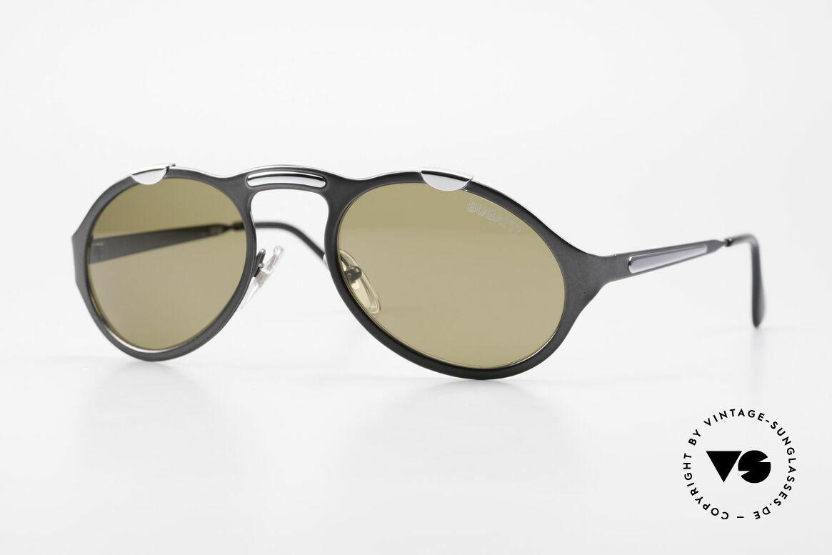 Bugatti 13152 Limited Rare Luxury 90's Sunglasses, very elegant Bugatti vintage designer sunglasses, Made for Men