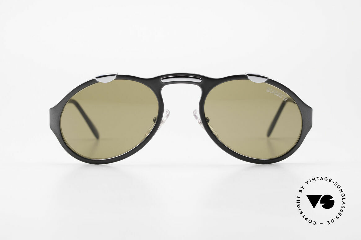 Bugatti 13152 Limited Rare Luxury 90's Sunglasses, made around 1995/96 in France (high-end quality), Made for Men