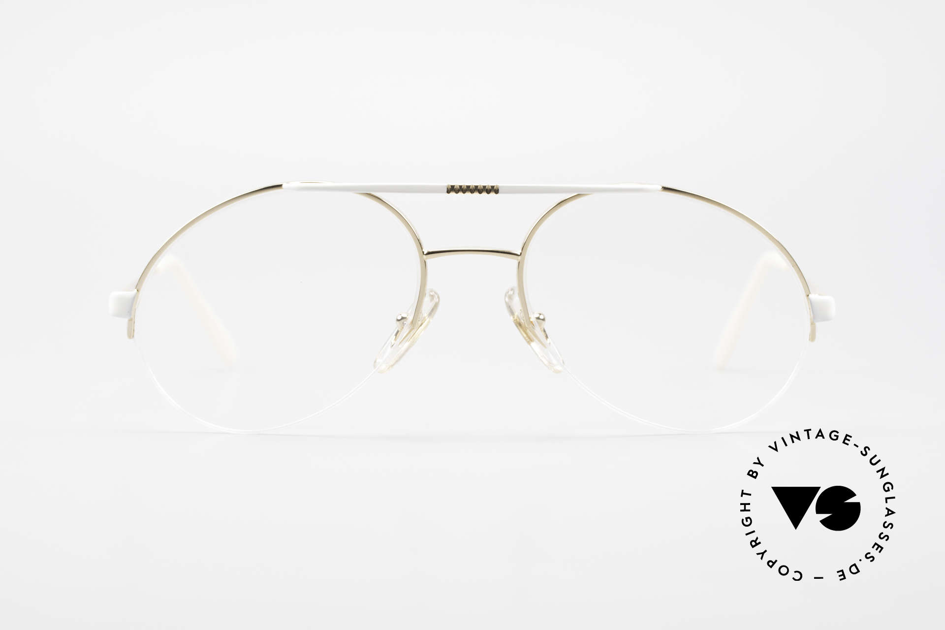 Bugatti 65787 Semi Rimless Frame With Clip, Size: large, Made for Men