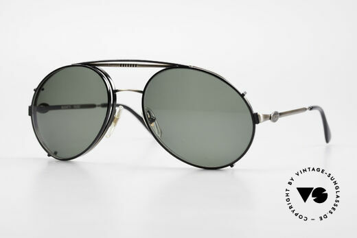 Bugatti 65282 Vintage Men's Glasses 1980's Details