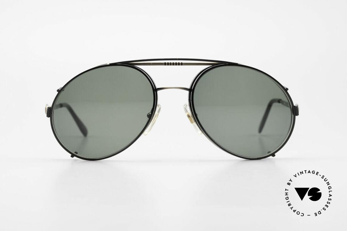 Bugatti 65282 Vintage Men's Glasses 1980's, legendary vintage BUGATTI 'tear drop' design, Made for Men