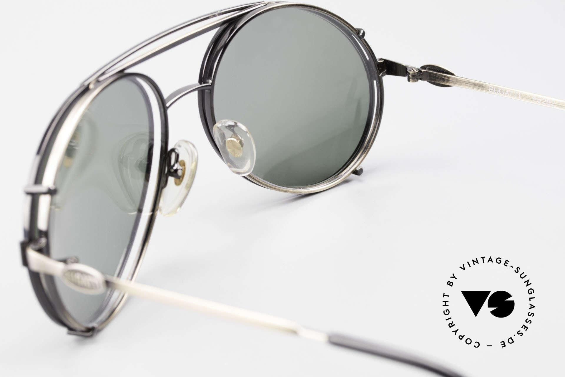Bugatti 65282 Vintage Men's Glasses 1980's, unworn; like all our vintage Bugatti sunglasses, Made for Men