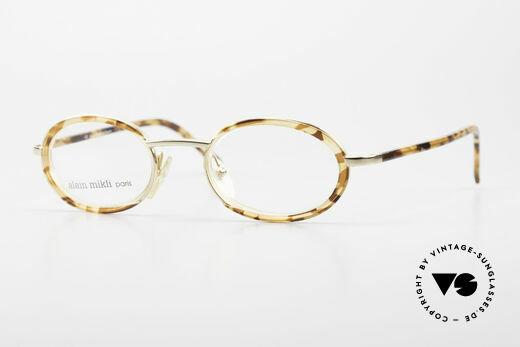 Alain Mikli 2690 / 03157 Oval Vintage Designer Frame Details