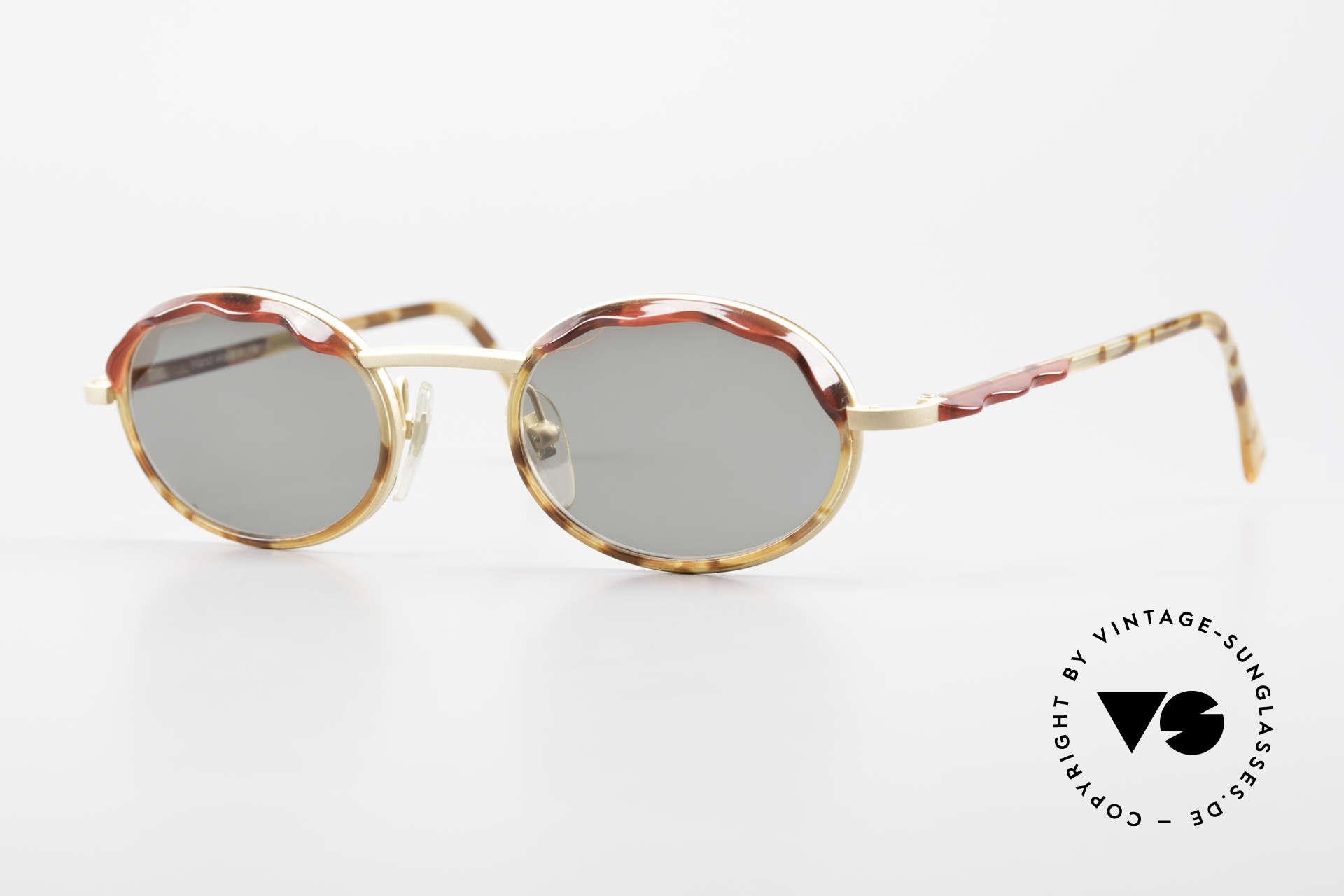 Alain Mikli 2149 / 04001 Oval Vintage Ladies Shades, delightful vintage designer sunglasses by Alain Mikli, Made for Women