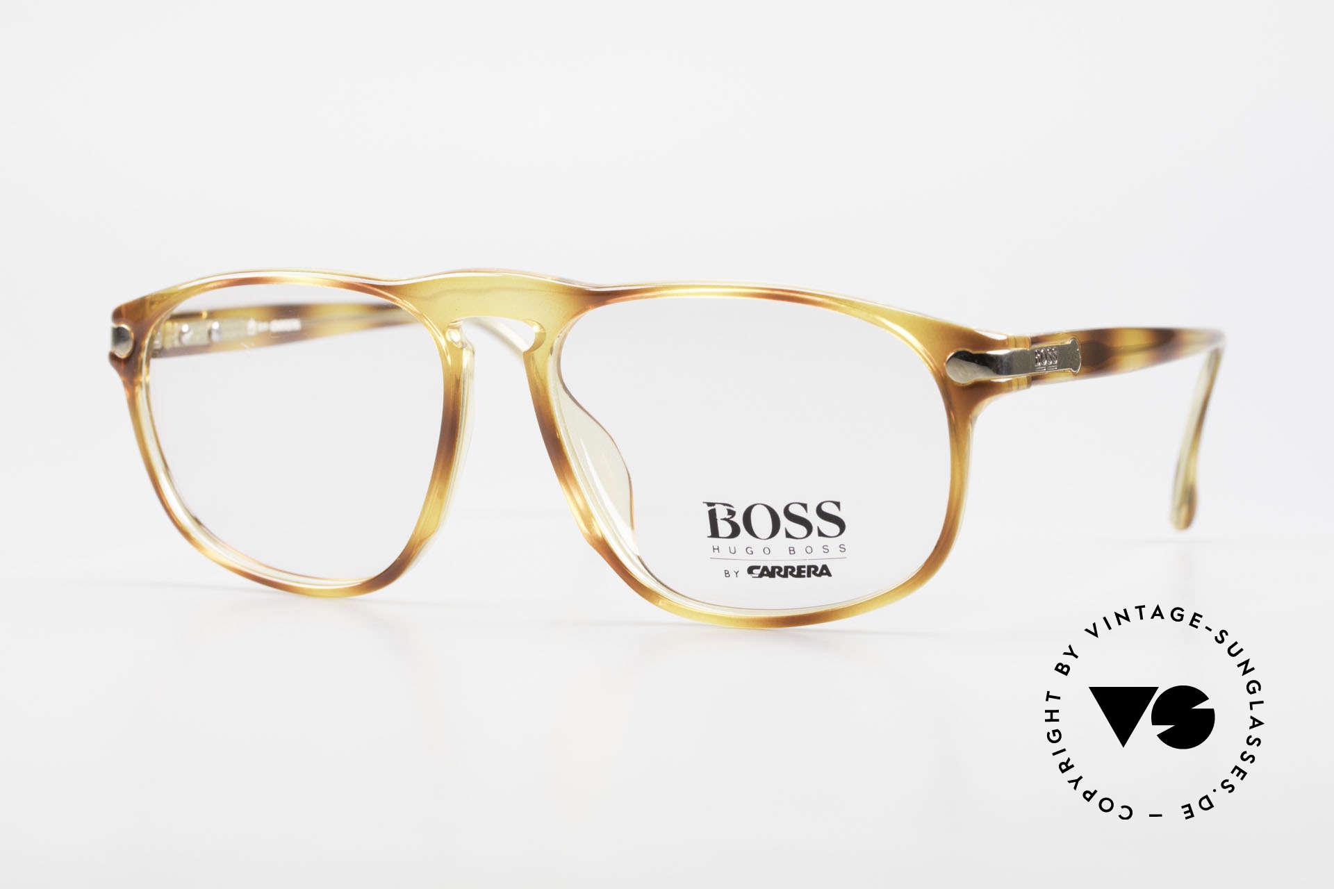 BOSS 5102 Square Vintage Optyl Glasses, striking BOSS vintage designer glasses of the 90's, Made for Men