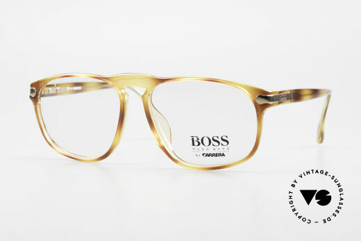 BOSS 5102 Square Vintage Optyl Glasses Details