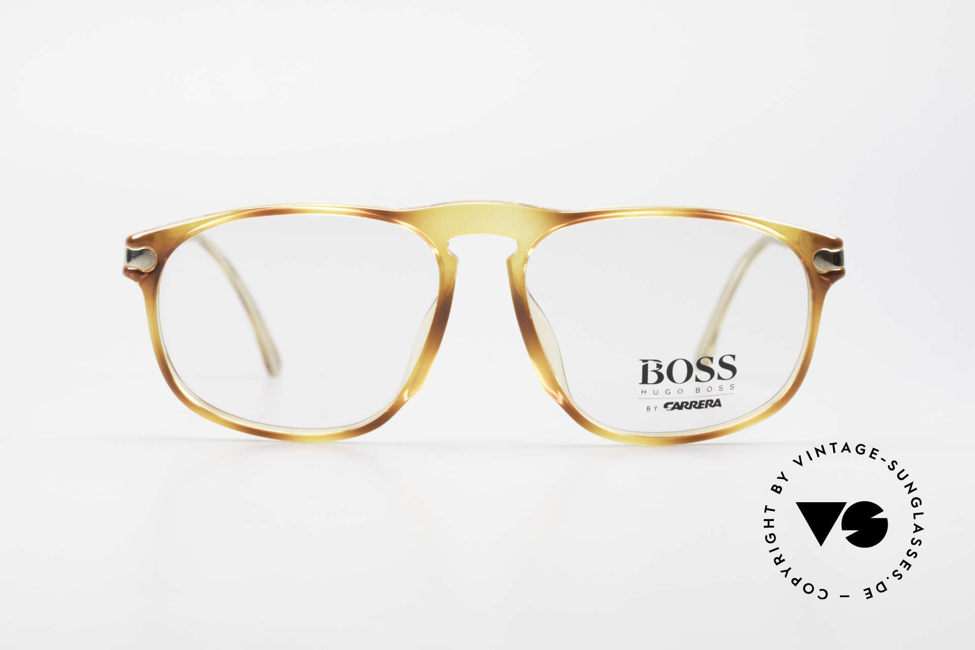 BOSS 5102 Square Vintage Optyl Glasses, cooperation between BOSS & Carrera, at that time, Made for Men