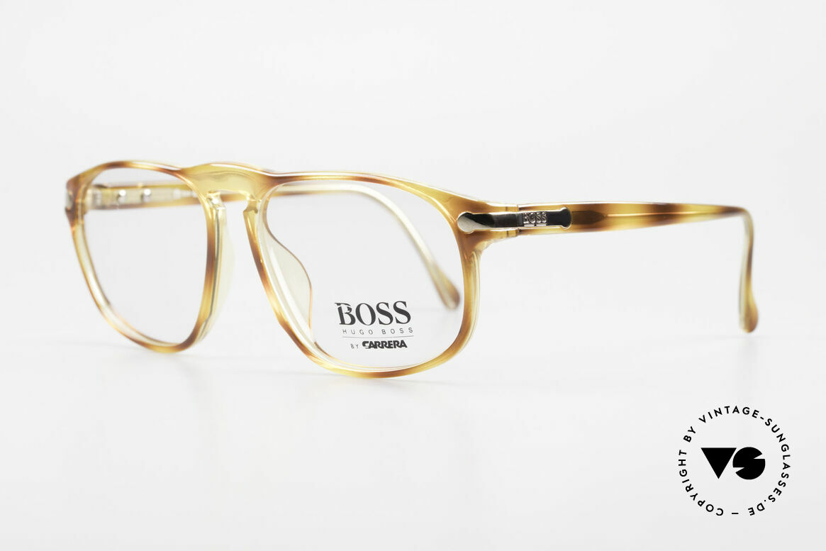 BOSS 5102 Square Vintage Optyl Glasses, high-end OPTYL material (lightweight & durable), Made for Men