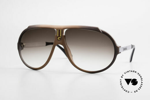Carrera 5512 80's Don Johnson Sunglasses Details