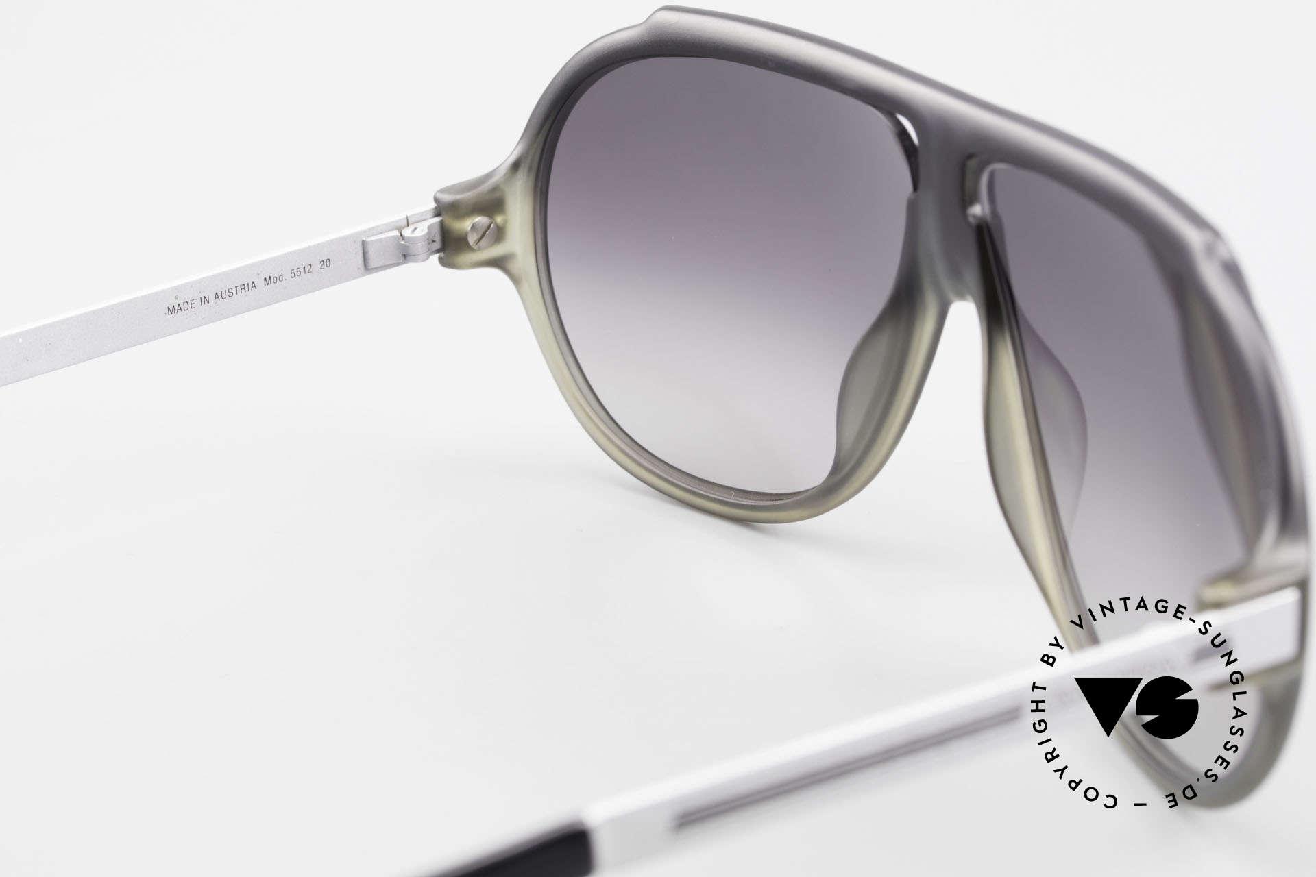 Carrera 5512 80's Miami Vice Sunglasses, NO RETRO SHADES; but a rare 30 years old ORIGINAL, Made for Men