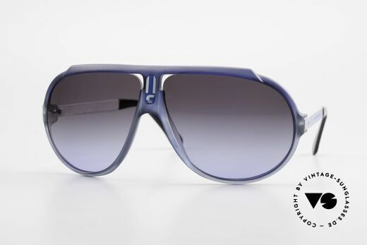 Carrera 5512 Iconic 80's Vintage Sunglasses Details