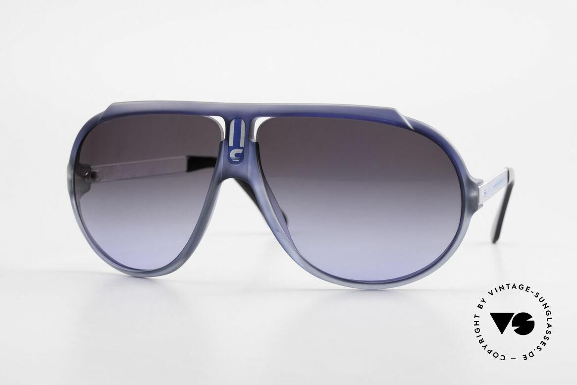 Carrera 5512 Iconic 80's Vintage Sunglasses, legendary 1980's vintage CARRERA designer sunglasses, Made for Men